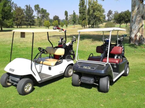 Golf Carts at Riviera on Vaal