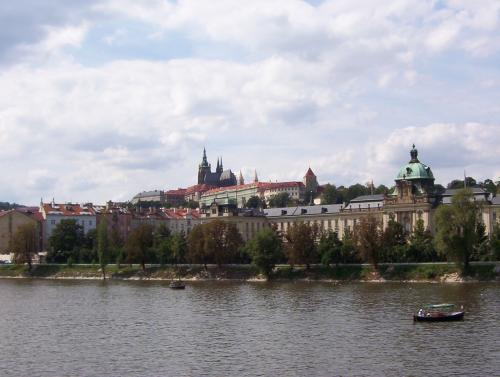 Distance view of the castle