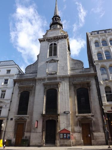 St Martins-within-Ludgate church on Ludgate Hill