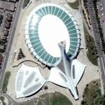 Olympic Stadium - Montreal (Google Maps)