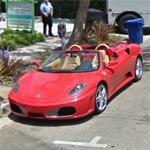 Ferrari F430 spider (StreetView)