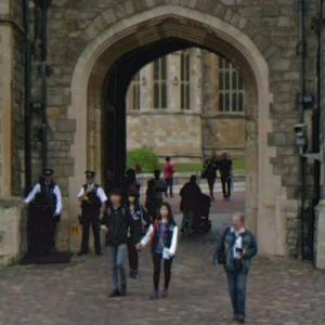 King Henry VIII Gate at Windsor Castle (StreetView)