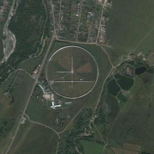 Radio telescope RATAN 600 (Google Maps)