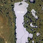Frozen Lake, North Canada