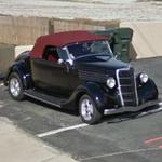 1936 Ford Cabriolet Hot Rod (StreetView)