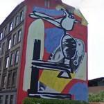 Solbjerg Plads mural