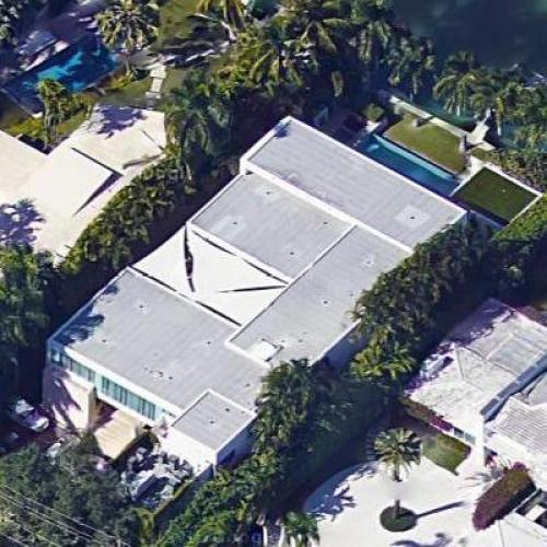chris bosh's house in miami beach, fl (google maps)
