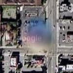UFO over Los Angeles 07 (Google Maps)