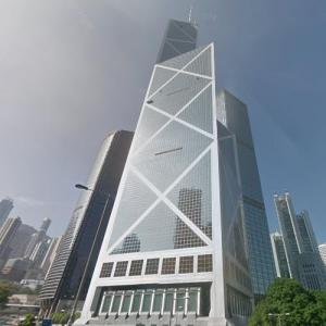 Bank of China Tower by I.M Pei (StreetView)
