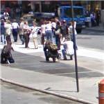 Sound installation 'Times Square' by Max Neuhaus (StreetView)