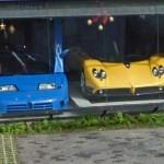 Bugatti EB110 & Pagani Zonda (StreetView)