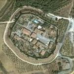 Medieval walled town (Google Maps)