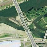 Asahibashi bridge (Google Maps)
