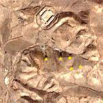 Openings Into North Korean Mountain (Google Maps)