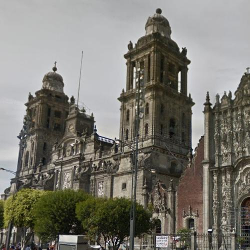 """Mexico City Metropolitan Cathedral"" by Claudio de Arciniega (StreetView)"