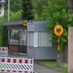 German/Swiss Border station (StreetView)