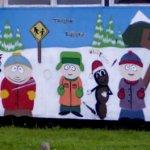 South Park mural (StreetView)