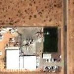 Two CH-54 Sikorsky Skycrane helicopters (Google Maps)