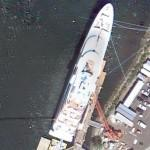 Superyacht Cakewalk (Google Maps)
