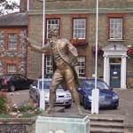 Statue of Thomas Paine (StreetView)