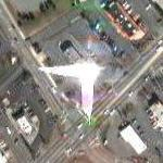 Double flare with number (Google Maps)