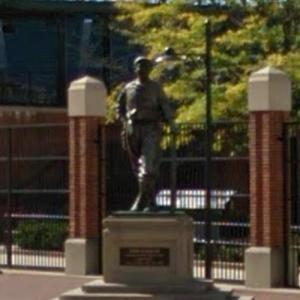 Babe Ruth statue (StreetView)