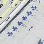Blue Angels (and Fat Albert) (Google Maps)