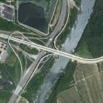 Vietnam Veterans Memorial Bridge - I95 Interchange (Google Maps)
