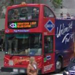 Gray Line New York Sightseeing Double Decker Tour Bus (StreetView)