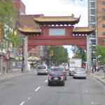 Chinatown, western gate (StreetView)