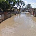 Flooded street (StreetView)