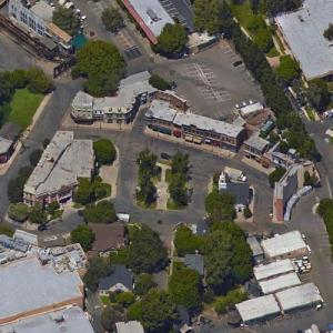 """""""Midwestern Street"""" filming location at Warner Brothers Studios (Google Maps)"""