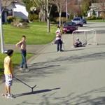 Street hockey (StreetView)