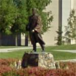 Charles Bunnell Statue