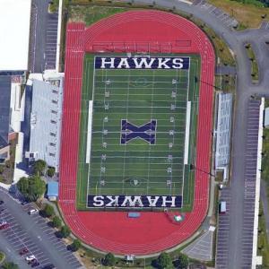 Xaverian Brothers High School football field (Google Maps)