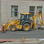 John Deere 310SG Backhoe Loader (StreetView)