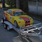 BMW M3 Racing car (StreetView)