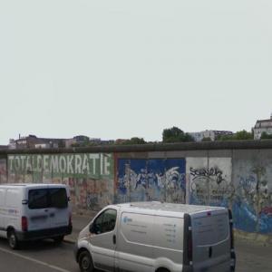 Berlin Wall (StreetView)