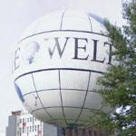 World on the Berlin HiFlyer hot-air balloon (StreetView)