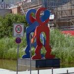 'Boxers' by Keith Haring (StreetView)