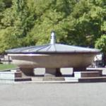 World's Largest Granite Soup Bowl (StreetView)