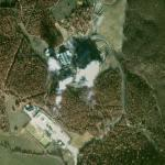 Travale geothermal power station (Google Maps)