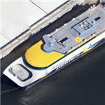 Former Hawaii Superferry Alakai and Huakai ferries (Google Maps)