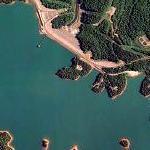 Nottely Dam and Lake Nottely (Google Maps)