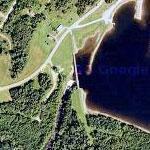 First Connecticut Lake Dam (Google Maps)
