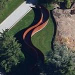 'Seattle Splines' by Richard Serra (Google Maps)