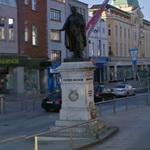 Theobald Mathew's statue (StreetView)