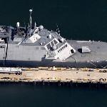 USS Freedom (LCS-1) (Google Maps)