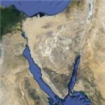 Sinai Peninsula (Google Maps)