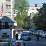 U.S. Embassy Gate (StreetView)